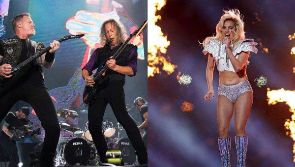 Metallica y Lady Gaga actuarán juntos