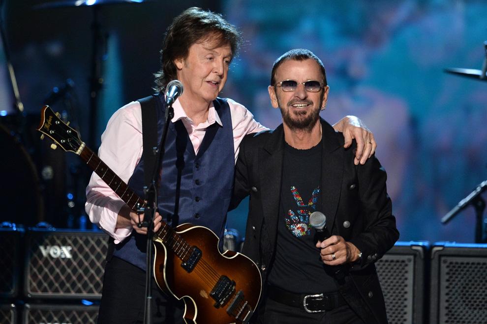 ¡Increíble! Ringo Starr y Paul McCartney volvieron a grabar