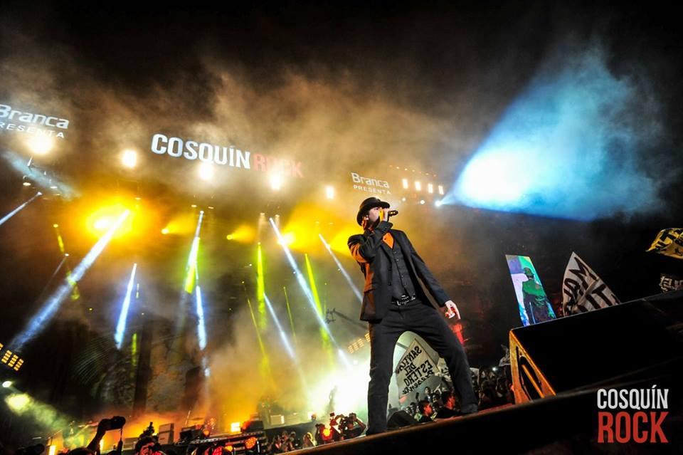 Cosquín, día 1: Un kilómetro de rock