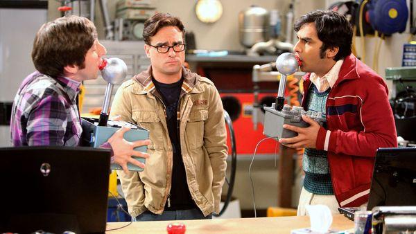 The Big Bang Theory: un gesto inusual de sus actores