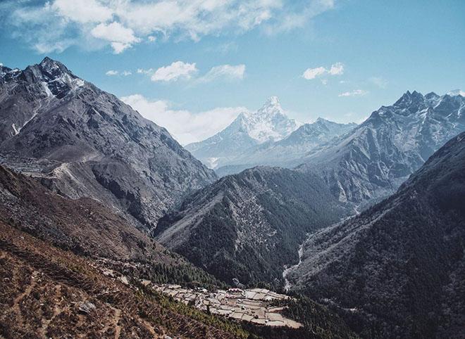 fiesta electrónica en el Everest