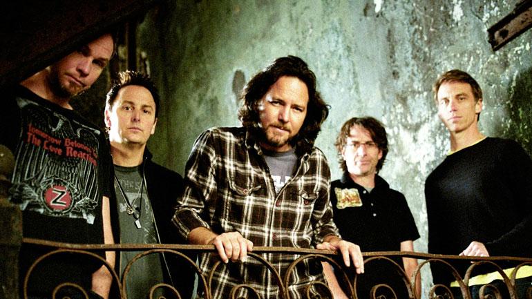 Pearl Jam al Salón de la Fama