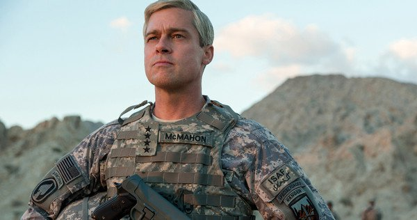 War Machine es la nueva película de Brad Pitt producida para Netflix