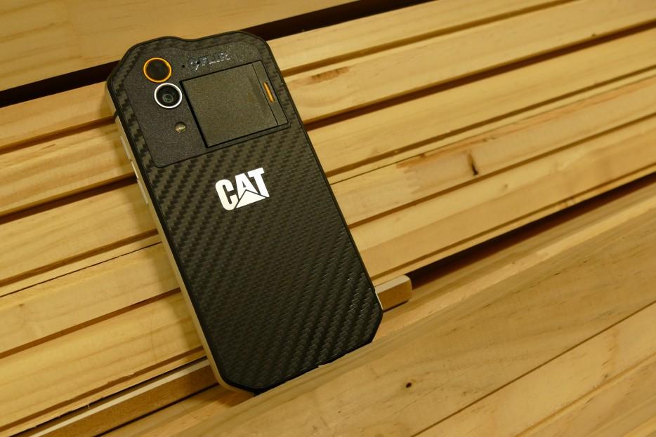 Caterpillar creó su celulares todoterreno