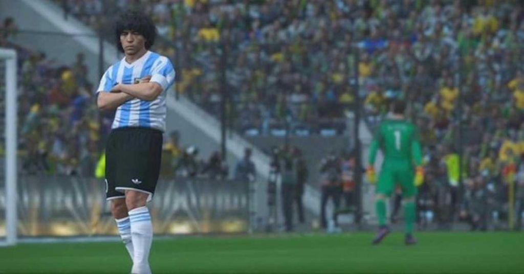Maradona-Konami-disputa2