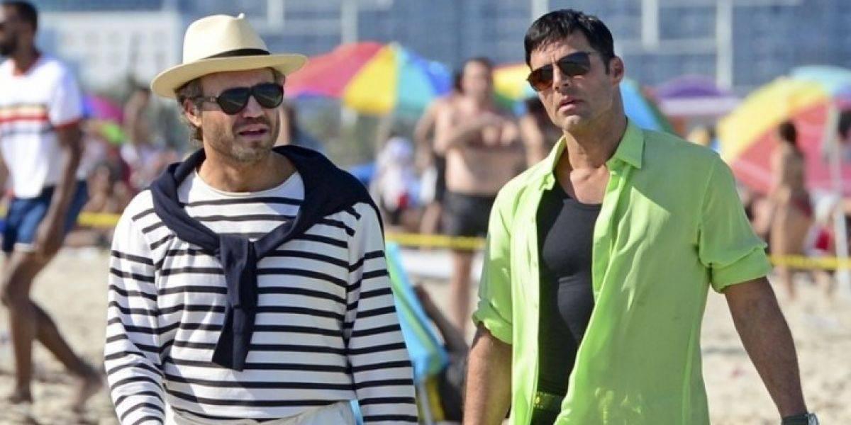 primeras imágenes de Ricky Martin en su fase actoral