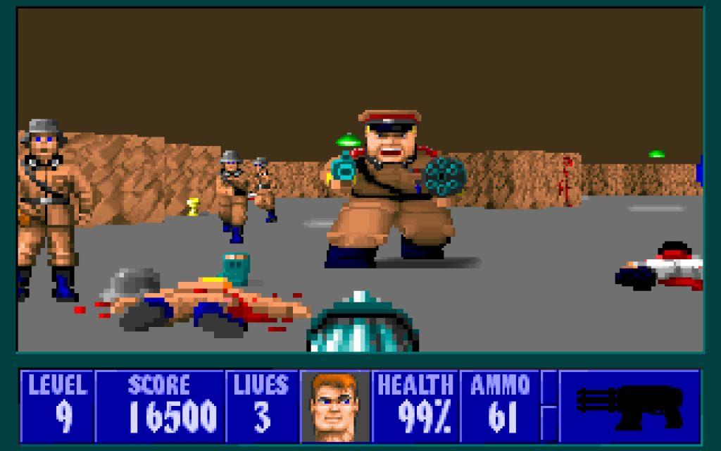 Wolfenstein-3D-juego-90s