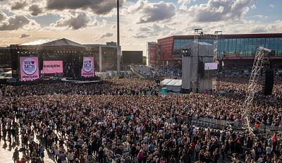 Ariana Grande hizo un show histórico