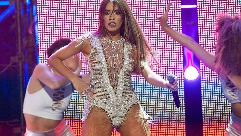 Lali Espósito fue protagonista de los MTV Miaw