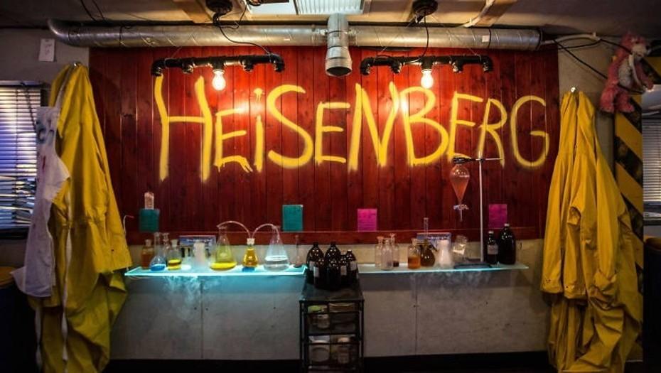 El bar de Breaking Bad.