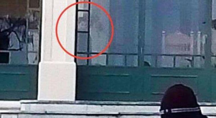 """Niño fantasma"" fue fotografiado por un turista santafecino."