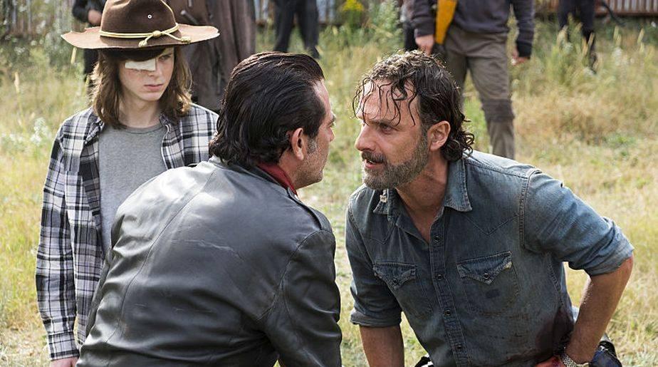 Hay conflicto en The Walking Dead
