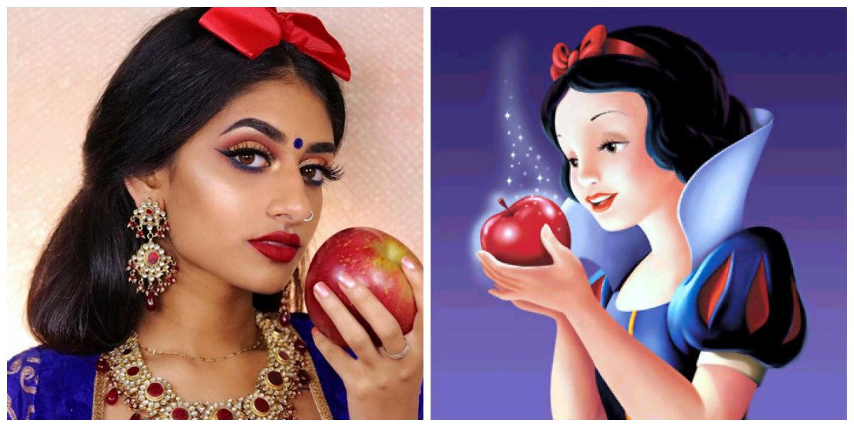 cambio de look de las princesas