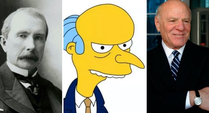 la génesis de los personajes de Los Simpsons