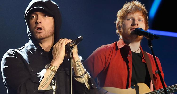 Eminem y Ed Sheeran, en un choquechoque de potencias