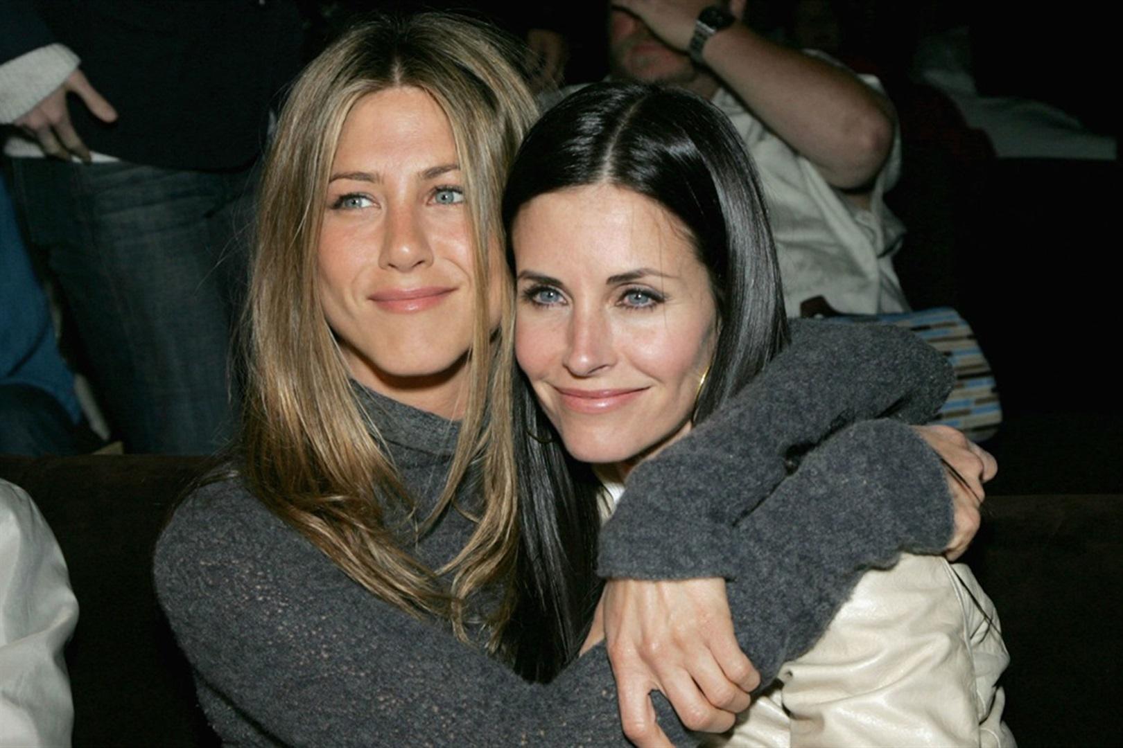 Jennifer Aniston reunió a sus friends