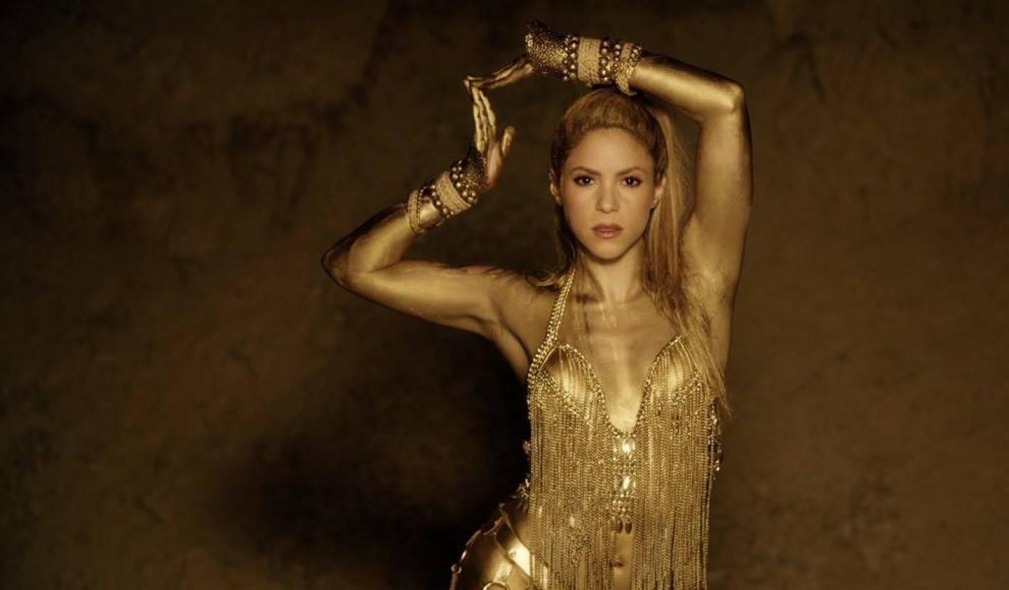 Shakira volvió a cantar