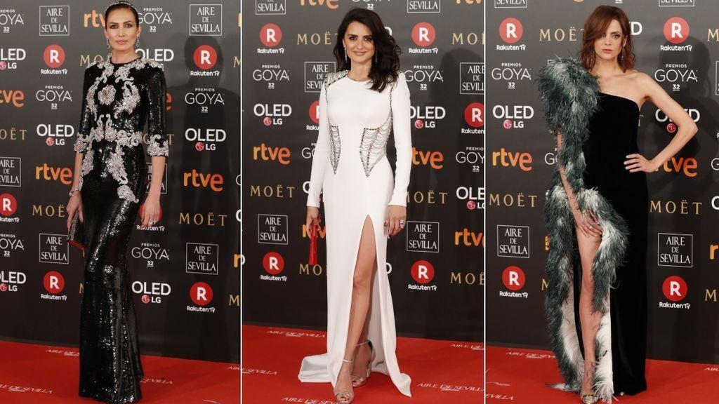 Los Premios Goya, celebrados desde hace unos años en el Hotel Auditorium de Madrid, son una experiencia más para mostrarte los mejores vestidos.