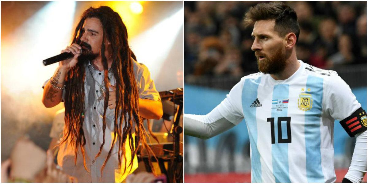 Dread Mar I y Messi, un sólo corazón