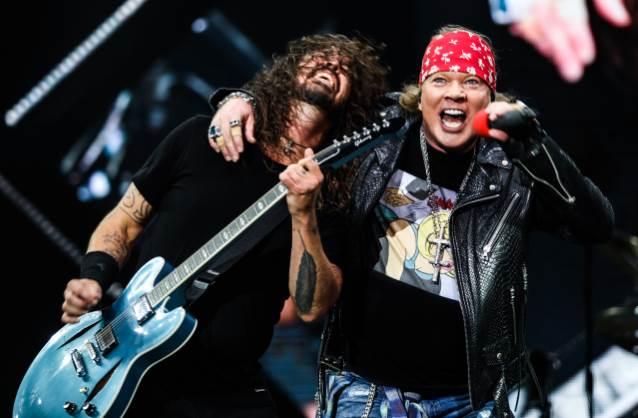 Nirvana y Guns N' Roses