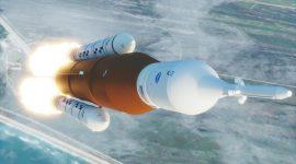 Primeras imágenes del cohete más grande y potente de la historia